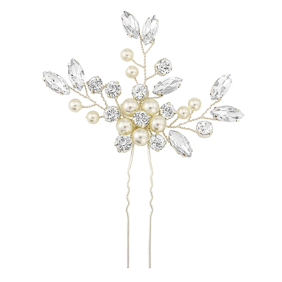 ATHENA COLLECTION - FLORAL CLUSTER HAIR PIN