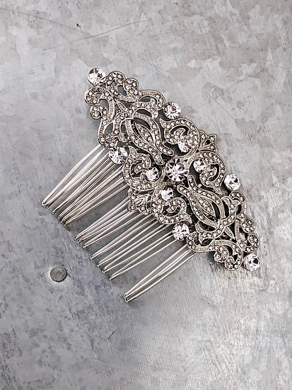 Vintage style Bridal comb