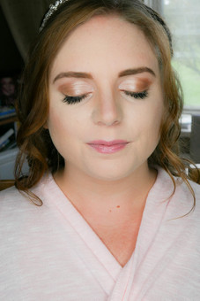 Soft and natural bridal makeup look perfect for the classic or romantic bride on her wedding day. Wedding Hair and Makeup artist in Kent by Hayley Laws