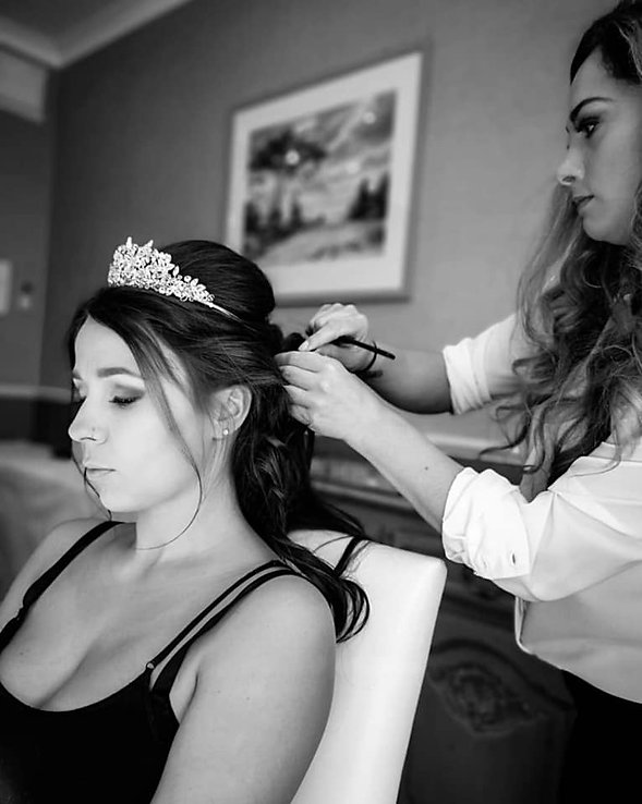 Wedding hair and Makeup artist in Kent. By Wedding makeup artist in Kent, Hayley Laws