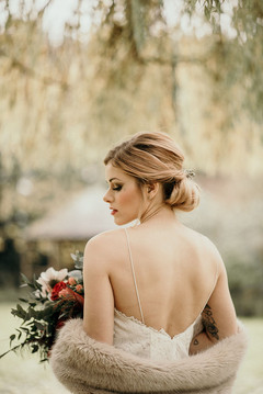 Bridal Hairstylist in Kent. Wedding Hair style by Hayley Laws