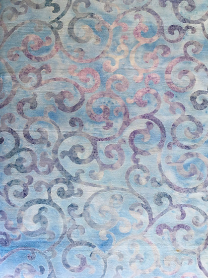 Robert Kaufman - Regal pale blue with dark swirls