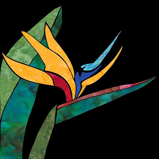 Bird of Paradise  - Individual 12x12