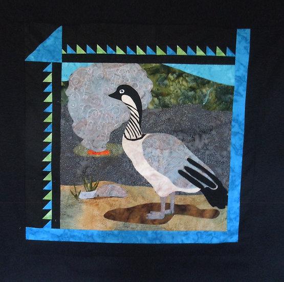 Nene - Hawaiian Goose 18x18 without borders