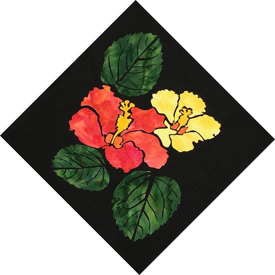 Hibiscus - Individual 12 x 12