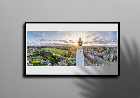 Withernsea Lighthouse Panorama