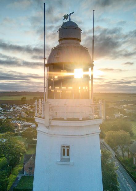 Withernsea Lighthouse Sunset
