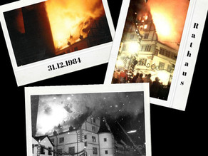 """Kitzingen to go"" Der Rathausbrand 1984"