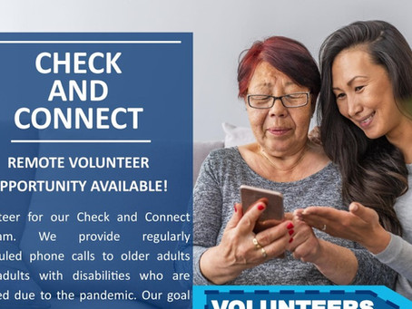 Check and Connect Program Seeking Volunteers
