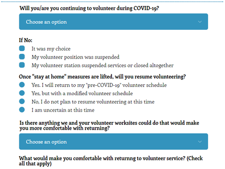 Take the COVID-19 Volunteer Survey