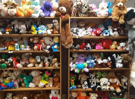 Stuffed Animals Donated to DSHS