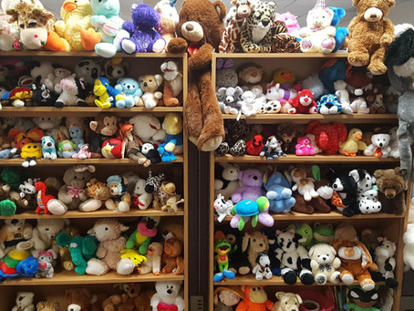 Stuffed Animals Donated to DSHS