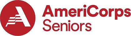 AmeriCorps Seniors logo crimson