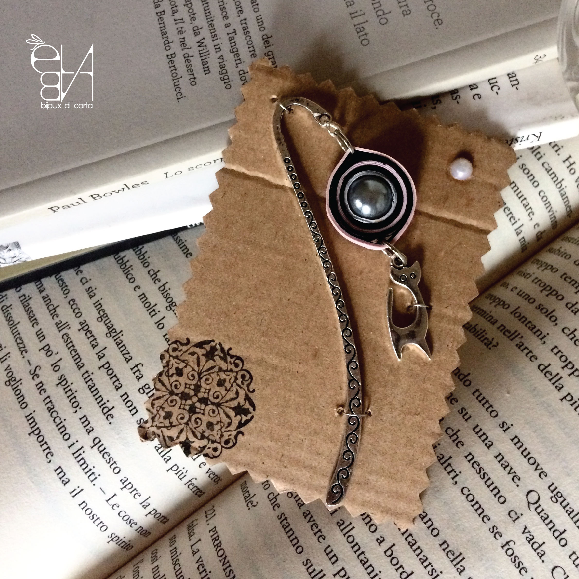 PAPER BEADS & CHARMS BOOKMARK - ROLLING COLLECTION