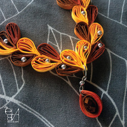 PAPER COLLIER - LEAVES COLLECTION
