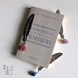 FEATHER BOOKMARK - ROLLING COLLECTION