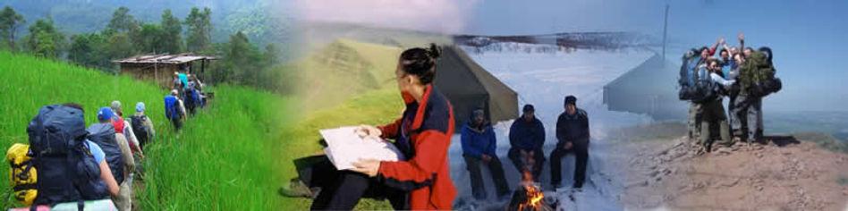Navigation Skills Courses, Mountain acti