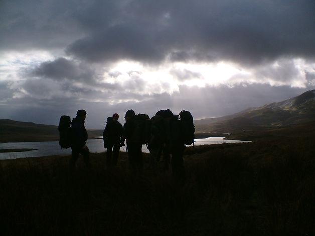 Night Micro Navigation Skills Wales Trai
