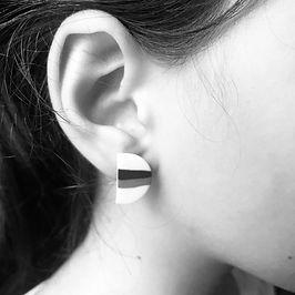 Boucles d'oreille Stain Marie Courtillat