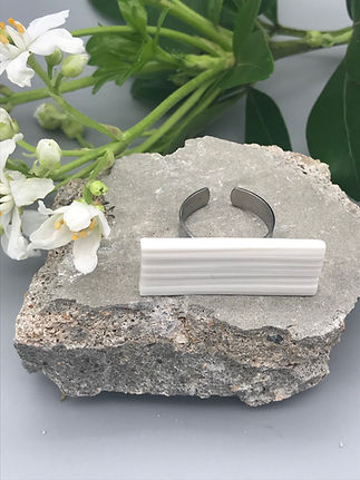 Bague concrete Marie Courtillat Bijoux e