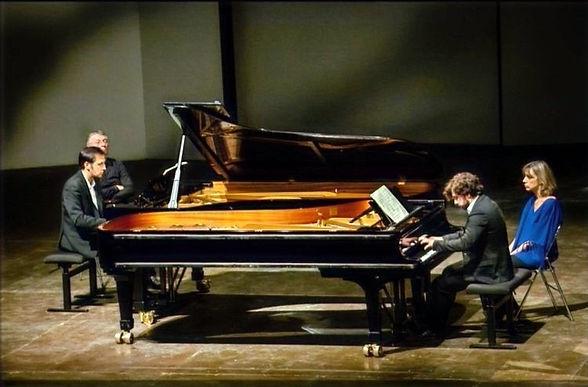 Geister Duo, Duo Salmon Vieillard, duo de piano, Piano Duo, David Salmon Manuel Vieillard