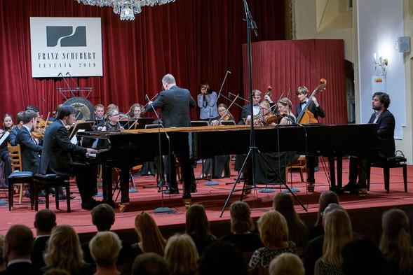 Geister duo, David Salmon & Manuel Vieillard, duo de piano