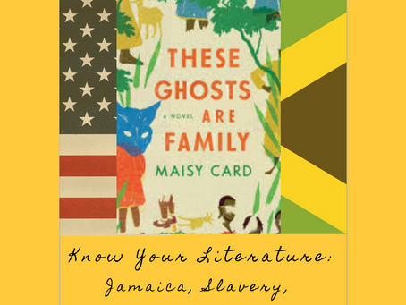 EP 10: Know Your Literature: Jamaica, Slavery & Ghost Stories