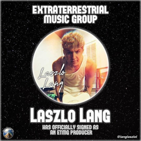 New York based Artist Laszlo Lang  Signs to Extraterrestrial Music Group