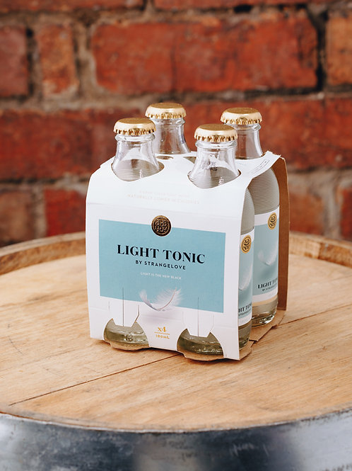 4 x pack Strangelove Light Tonic water