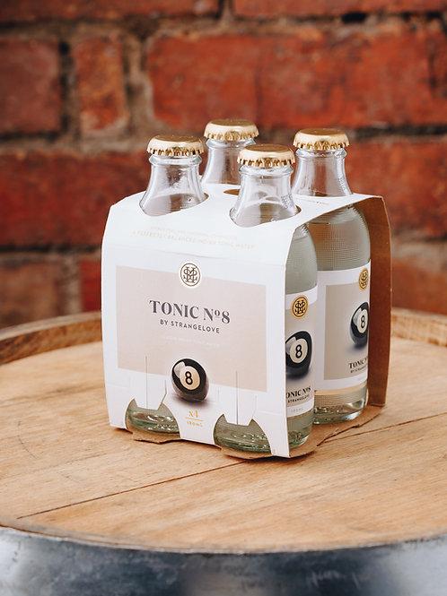 4 x pack Strangelove No.8 Tonic water