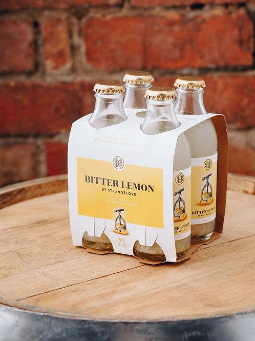 4 x pack Strangelove Bitter Lemon water