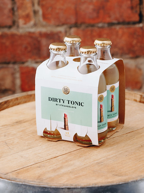 4 x pack Strangelove Dirty Tonic water