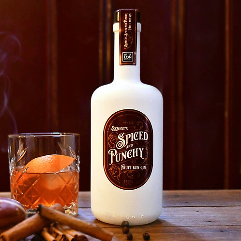 Ernest's Spiced & Punchy Fruit Bun Gin