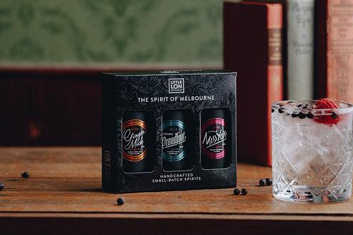 Little Lon 3 x 100ml Mini-Gin Tasting Pack