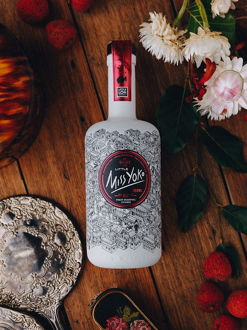 Miss Yoko. A Taste of the Orient Gin with Fresh Seasonal Lychees