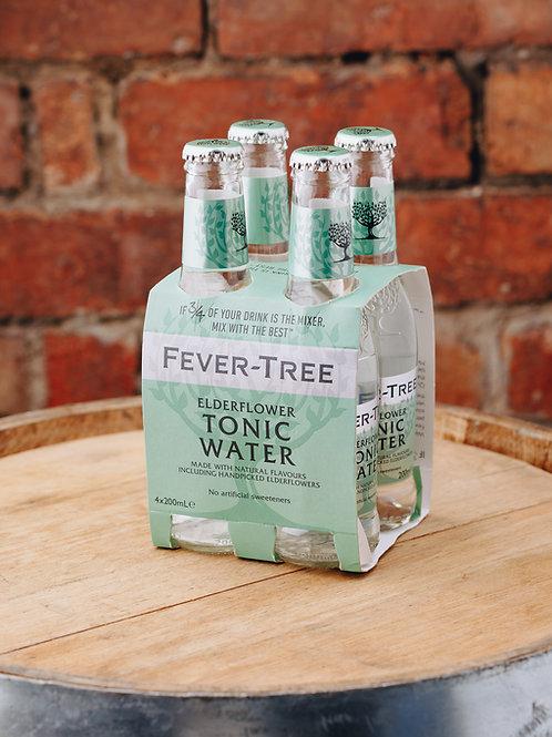 4 x pack Fevertree Elderflower Tonic Water
