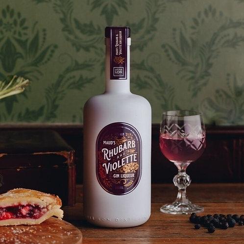 Maud's Rhubarb & Violette Gin Liqueur