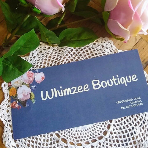 Whimzee Boutique Gift Card