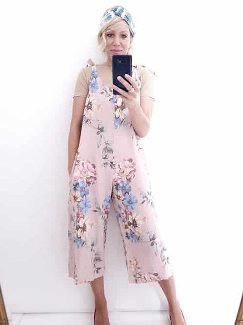 Helga May Rolling Meadow Linen Jumpsuit
