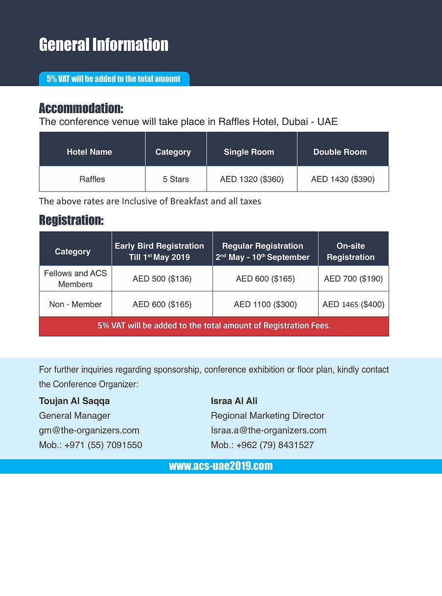 1st International Congress of ACS UAE