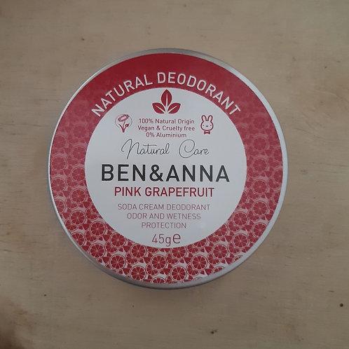 Deodorante in crema pink grapefruit 45gr