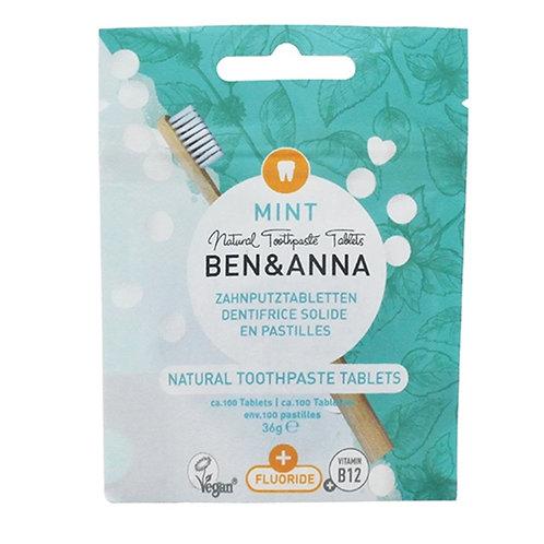 Dentifricio in compresse con fluoro - Ben&Anna