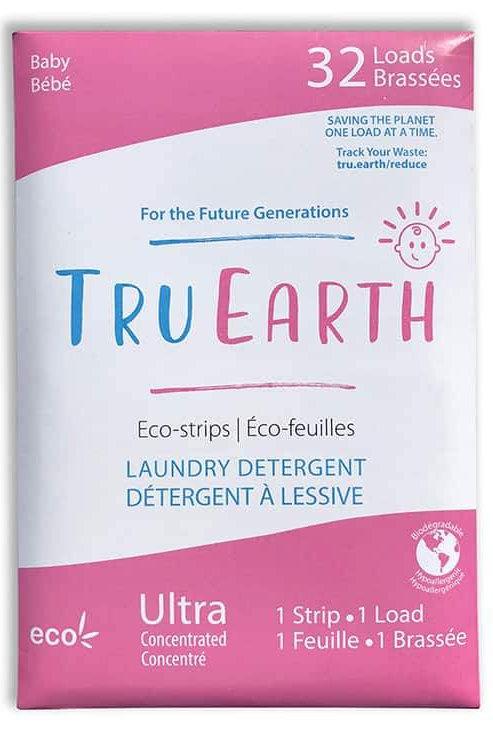 Eco strisce per il bucato baby Tru Earth