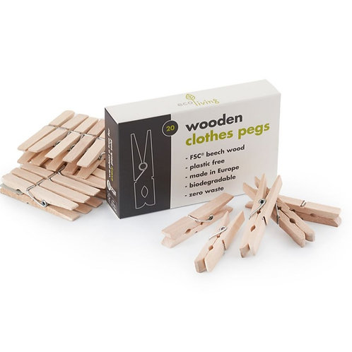 Mollette in legno FSC (20PZ)