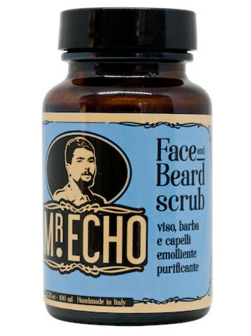 Scrub viso e barba ~ Mr Echo