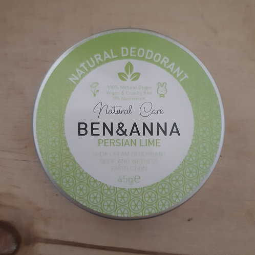 Deodorante in crema persian lime 45gr