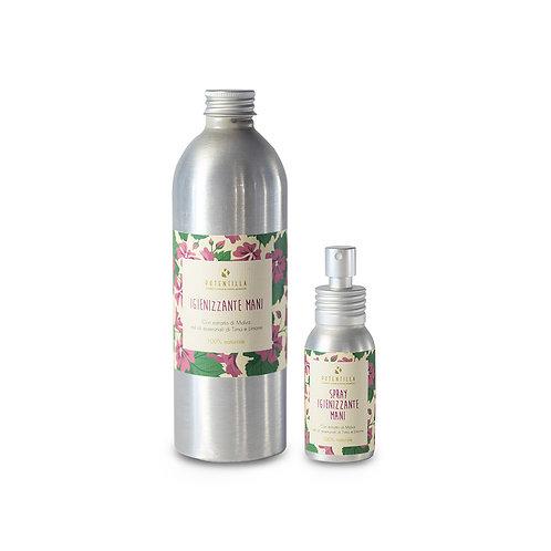 Kit igienizzante mani spray+ricarica