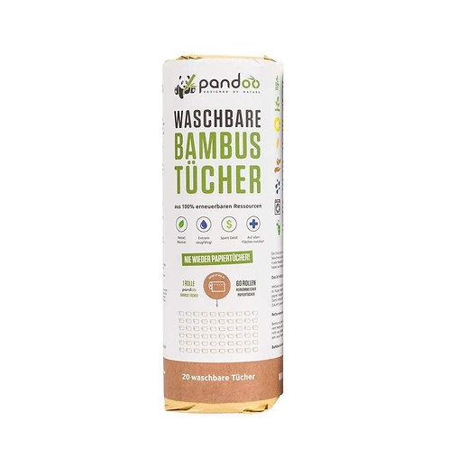 Rotolo di panni in bambù