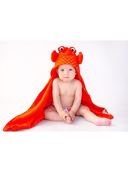 Zocchini asciugamano baby con cappuccio (0-24mesi)