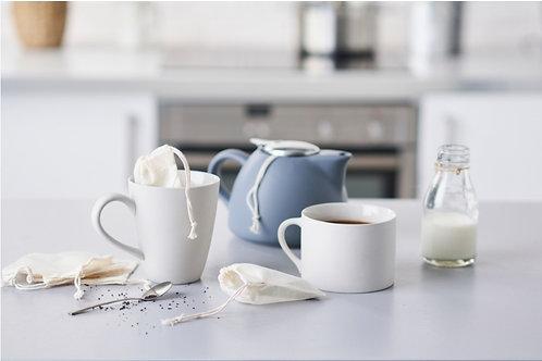 Bustine da tè riutilizzabili e lavabili ~ Ecoliving